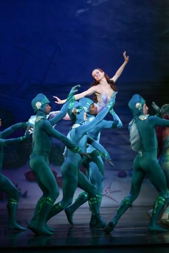 Charlotte Ballet - Little Mermaid - Alessandra Ball James _1 photo by Jeff Cravotta