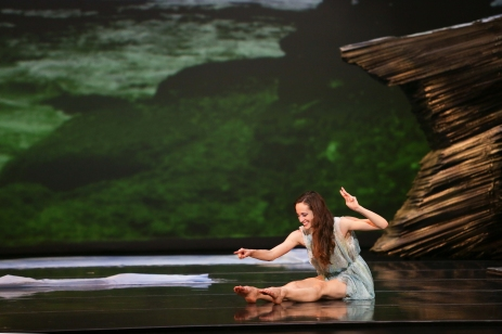 Charlotte Ballet - Little Mermaid - Alessandra Ball James _2 photo by Jeff Cravotta