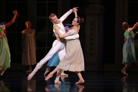 Charlotte Ballet - Little Mermaid - Alessandra Ball James & James Kopecky_photo by Jeff Cravotta