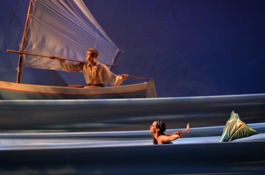 Charlotte Ballet - Little Mermaid - Alessandra Ball James & James Kopecky_photo by Peter Zay