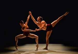 Charlotte Ballet_Innovative Works_Dwight Rhoden_Ballad Unto_Dancers Jamie Dee Clifton and Josh Hall_Photo by Peter Zay