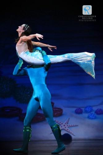 Christopher Record Dance Photography - Charlotte Ballet Little Mermaid